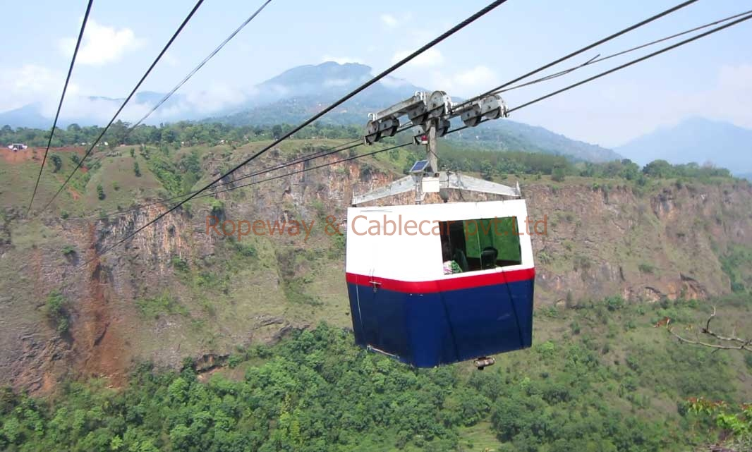Cablecar made by Ropeway & Cablecar Pvt.Ltd